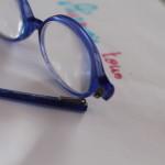 Les lunettes de Thibault