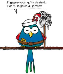 Parrot-moussaillon
